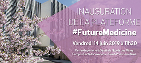 Inauguration de la plateforme #Future Medicine