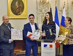 Deux alumni ICM lauréats du grand prix VIE Russie