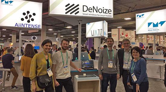 Félicitations à la start-up DeNoize primée au CES 2020 !