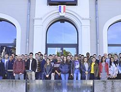 Accueil des étudiants sur le Campus industriel
