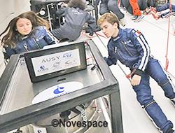 4 élèves ISMIN participent à la campagne de vols paraboliques du CNES !